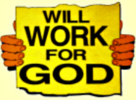 will-work-for-god