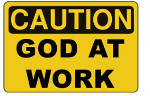caution-god-at-work