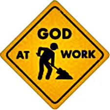God-at-Work-Sign