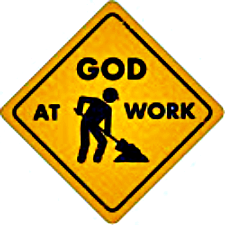 God-at-Work-Sign