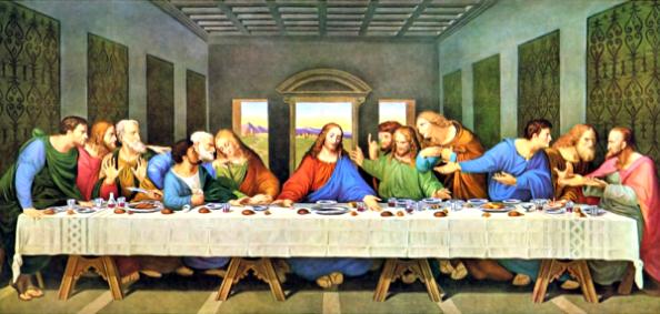 The Devil Amongst Us – Lessons From John 6 | Steve's Bible ... Da Vinci Last Supper Restored