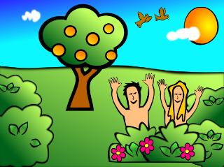 Adam&EveInGardenOfEden